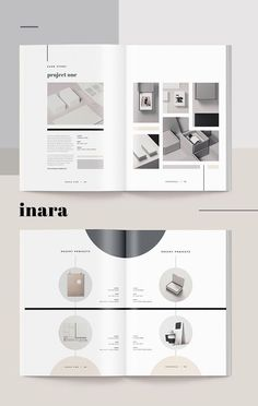 Proposal - Inara --- When you need to make a great first impression, a modern and elegant template like 'Inara' has you covered. A complete business proposal Web Design, Page Design, Cover Design, Design Portfolio Layout, Layout Design, Layout Cv, Industrial Design Portfolio, Portfolio Examples, Booklet Design