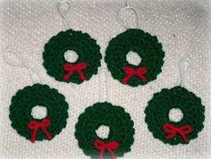 Blackstone Designs: Wreath Xmas Tree Ornament
