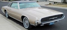 1967 Ford Thunderbird..Re-pin...Brought to you by #HouseofInsurance for #CarInsurance #EugeneOregon.
