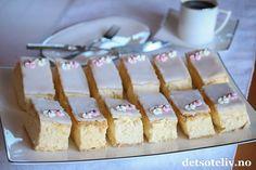 Napoleonskake | Det søte liv Krispie Treats, Rice Krispies, Food And Drink, Cakes, Baking, Desserts, Tailgate Desserts, Deserts, Mudpie