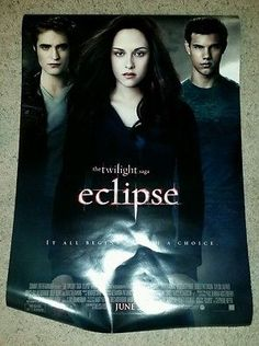 The Twilight Saga Eclipse DS Promo Movie Theater Poster   27 x 40 P23