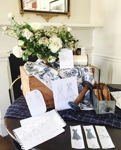 Every nook of @birkbyhouse has a special treasure in it today for the @virginiadaredressco launch party! Attention to detail is the fast way to my heart  @adailysomething killing it with her styling as usual! #vddcokindreds  #launchparty #details #wildgreenyonder
