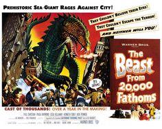 The Beast From 20,000 Fathoms by peterpulp.deviantart.com on @DeviantArt