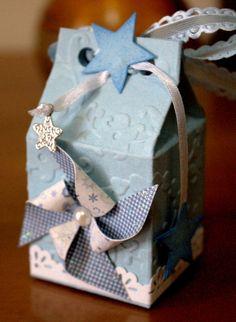 nonsolocard: Benvenuto Francesco!!!! Wedding Thanks, Milk Box, Carton Box, Birthday Box, Pillow Box, Craft Box, Baby Scrapbook, Diy Frame, Baby Cards