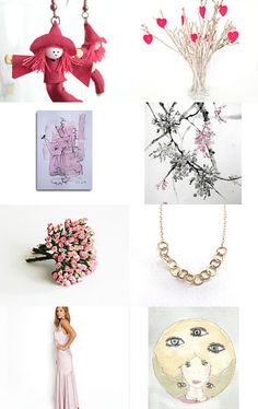 Pink by Georgia on Etsy--Pinned with TreasuryPin.com