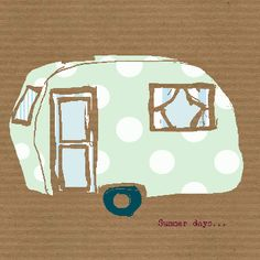 Summer Days...caravan! (c)Elizabeth Ryman for www.cinnamontoastdesigns.com