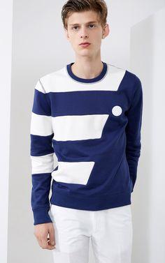 Breton stripes sweatshirt