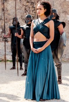 Nathalie's ♕ Missandei in Game of Thrones steals the scenes with her beauty and soft spoken sexual persona she portrays... for me!
