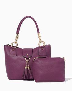 Bag-in-Bag Tassel Tote | UPC: 450900575328