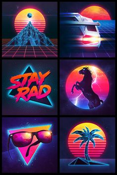 "The Signalnoise print universe continues to grow, but this time we're shifting away from pop culture to the neon-infused era of the vibrant 1980s. Get ready for pinks, glows, grids and sunsets as we introduce The Overdrive Series. - See more at: <a href=""http://blog.signalnoise.com/category/starkade/#sthash.ez5N5tFj.dpuf"" rel=""nofollow"" target=""_blank"">blog.signalnoise....</a>"