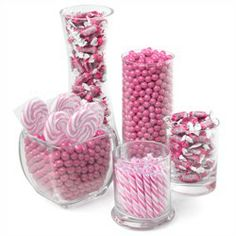 Pink - Candy Kit for Baby Showers