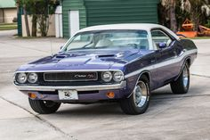 1970 Dodge Challenger R/T 440  Maintenance/restoration of old/vintage vehicles: the material for new cogs/casters/gears/pads could be cast polyamide which I (Cast polyamide) can produce. My contact: tatjana.alic@windowslive.com