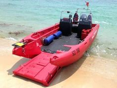 Own your own landing craft! I have no idea what this thing is -- the web page is in German -- but it is cool as hell! Mud Boats, Kayak Boats, Small Fishing Boats, Small Boats, Kayaks, John Boats, Tracker Boats, Kayaking Gear, Canoeing
