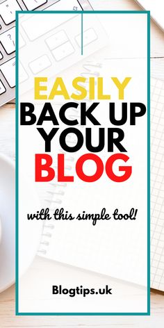 Discover why you should you backup your wordpress blog. Importance of regular backups and how to backup wordpress blogs easily. #wordpress #wordpresstips #blogtips