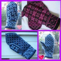 "Вязание.  Жаккард - ""Зимняя радуга"" Knit Mittens, Fingerless Gloves, Arm Warmers, Knitting, Crochet, How To Make, Shawls, Scarves, Socks"