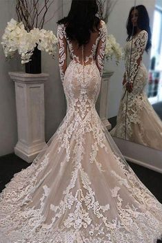 Top Wedding Dresses, Wedding Dress Trends, Tulle Wedding, Bridal Dresses, Wedding Ideas, Lace Wedding Gowns, Boho Wedding, Trumpet Wedding Gowns, Fall Wedding Themes