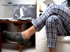 Ogni momento di pausa e relax sarà molto più intenso se vissuto con stile e comodità. Buon weekend!  ---Domenico Tagliente Autumn/Winter 15-16---  #domenicotagliente #shoes #monk  #design #italianstyle #collection #moda #modauomo #menswear #style #fashion #details #november #TagsForLikes #glamour #study #ricerca #charmant