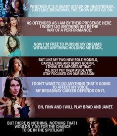 Rachel Berry Quotes #Glee