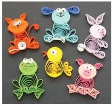 quilled dogs - Google Search