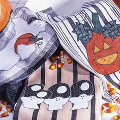 Halloween Towels Sewing Patterns ePattern