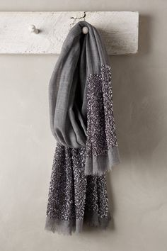 at Anthropologie Glimmered Wool-Silk Scarf How To Wear Scarves, Wearing Scarves, Beautiful Hijab, Mode Hijab, Diy Dress, Scarf Styles, Womens Scarves, Hijab Fashion, Autumn Winter Fashion