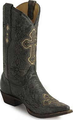 Corral Spanish Cross Western Boots