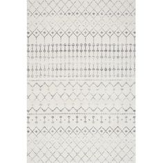 nuLOOM Blythe Modern Moroccan Trellis Gray 2 feet x 3 feet - The Home Depot Nuloom Blythe Gray 2 ft. X 3 ft. Moroccan Area Rug, Modern Moroccan, Moroccan Print, Moroccan Style, Moroccan Pattern, Grey Rugs, Beige Area Rugs, Dark Grey Couches, Colors