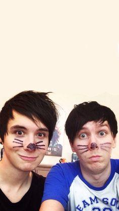 Wallpaper of Dan and Phil ❤️❤️❤️❤️