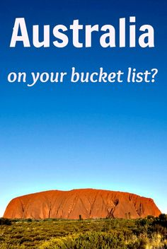 Australia on your bucket list? Follow our 1 year road trip for stories and travel tips!