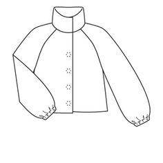 coat 102 (plate) - 10/2008 - Fausse fourrure ! 3 modèles faciles et tendance burdafashion.com
