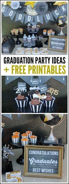 Aquí podrás encontrar ideas e imprimibles para tu celebración!
