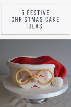 With Christmas just a week a way lets get joyful with our 5 Festive Christmas Cake Ideas. With Christmas just a week a way lets get joyful with our 5 Festive Christmas Cake Ideas. Christmas Cake Designs, Christmas Cake Decorations, Christmas Cupcakes, Holiday Cakes, Christmas Desserts, Christmas Treats, Xmas Food, Christmas Cooking, Noel Christmas
