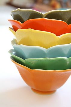 tulip bowls #bowl