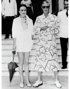 The Duke and Duchess of Windsor. Pimpin'.