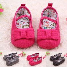 Lovely Cotton Soft Sole 0-18 Months Baby girls kids Shoes Toddlers Infant Shoes
