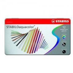 Pastelli Acquacolor Stabilo (conf. 12 col.)