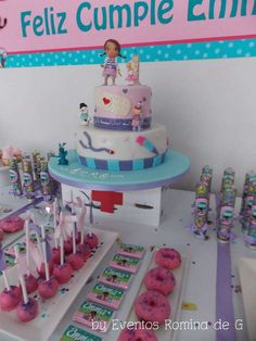 Doc McStuffins Birthday Party Ideas!  See more party ideas at CatchMyParty.com!
