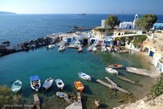 Mandrakia - Milos, Greece by neiljs on Flick Greece Islands, Visit Greece, In This Moment, Explore, Pictures, Photos, City, Water, Trips