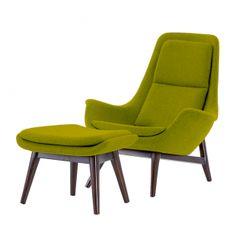 Darwin Lounge Chair and Footstool