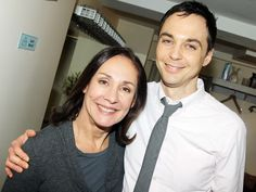 Laurie Metcalf y Jim Parsons (Mary Cooper y Sheldon Cooper)