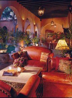 Mexican decor: Hacienda de los Santos, Alamos, Mexico