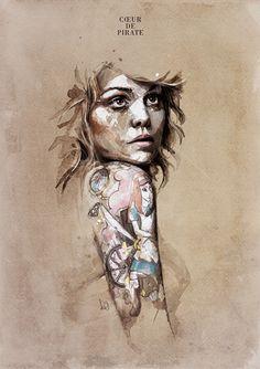 Florian Nicolle's Artwork