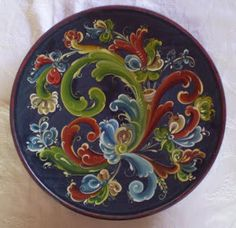 Something to ponder about...: Rosemaling
