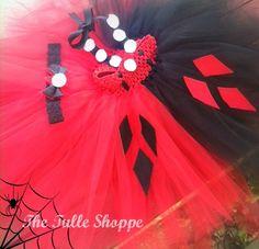 Harley Quinn Halloween costume!  www.facebook.com/thetulleshoppe