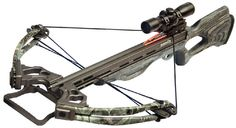 Patriot Revere Crossbow- The Revere #crossbow, features custom-matched fiberglass quad limb system, CNC-machined aluminum riser, cams and flight deck and an integrated machined aluminum foot stirrup. It also features a precision #trigger mechanism, #ambidextrous automatic safety and an anti-dry fire mechanism. It has a hand-crafted Smoke laminate stock, and limbs are in Proveil Reaper Buck camo. All Patriot #crossbows feature a scope, quiver, four carbon bolts, cocking aid, sling and rail…