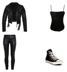 """""""Untitled #31"""" by chatham-s-m ❤ liked on Polyvore featuring Jean Muir, Balenciaga and Converse"""