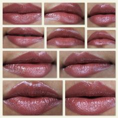 mac, lipglass, lip swatches, rebel, pop mode, desire, viva glam 6 ...