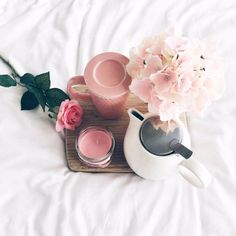 a pretty pink morning