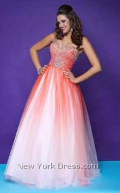 4db962e6978 Hot Pink Ombre Sequin   Tulle Sweetheart Lace Up Plus Size Prom Gown -  Unique Vintage - Cocktail