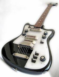 Vintage Russian USSR guitar